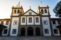 Facciata della chiesa della nostra signora di Montserrat Immagini Stock