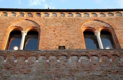 Facciata della costruzione che alloggia i comuni di Padova Immagini Stock