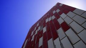 Facciata della costruzione di ventilazione immagine stock libera da diritti