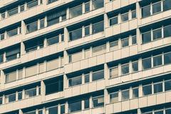 Facciata della costruzione - esterno del bene immobile Immagine Stock