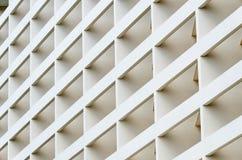 Facciata della costruzione nell'angolo Fotografie Stock Libere da Diritti