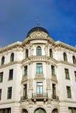 facciata della costruzione vecchia Fotografia Stock Libera da Diritti