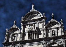 Facciata delle sedi storiche del palazzo dell'ospedale di Th Fotografia Stock