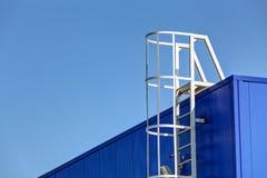 Facciata di alluminio Fotografia Stock Libera da Diritti