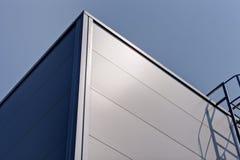 Facciata di alluminio Immagini Stock