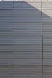 Facciata di alluminio Immagine Stock
