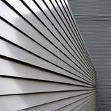 Facciata di alluminio Fotografia Stock