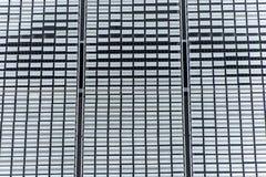 Facciata di alluminio della parete del fondo di struttura del bordo della lamina di metallo Immagine Stock