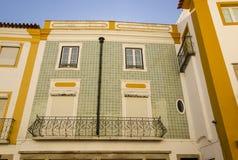 Facciata di Azulejos Fotografia Stock Libera da Diritti