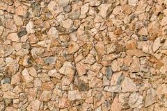Facciata di pietra naturale Immagini Stock Libere da Diritti