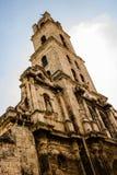 Facciata di San Cristobal Cathedral, Havana Cathedral Il quadrato della cattedrale ? uno dei quadrati principali a vecchia Avana, immagini stock