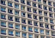Facciata di un edificio residenziale Immagine Stock