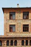 Facciata di una casa antica, Segovia, spagna Immagine Stock Libera da Diritti
