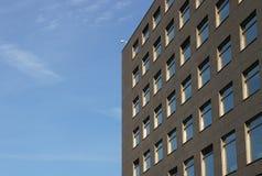 Facciata di una costruzione corporativa Fotografia Stock