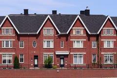 Facciata di una costruzione vivente moderna. fotografie stock libere da diritti