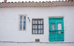 Facciata di vecchia casa I Fotografie Stock