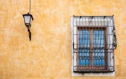 Facciata di vecchia casa II Fotografia Stock