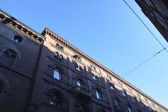 Facciata di vecchia costruzione Fotografia Stock