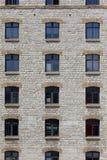 Facciata di vecchia costruzione di pietra Fotografie Stock