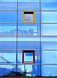 Facciata di vetro Immagini Stock Libere da Diritti