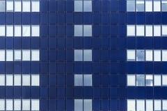Facciata di vetro delle finestre Fotografia Stock Libera da Diritti