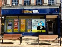 Facciata di William Hill fotografia stock libera da diritti