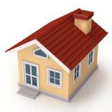 Facciata frontale di Mini House illustrazione vettoriale