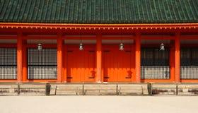 Facciata giapponese Fotografia Stock Libera da Diritti