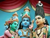 Facciata indiana del tempiale Fotografie Stock