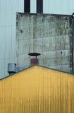 Facciata industriale immagine stock