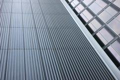 Facciata moderna dell'edificio per uffici Fotografia Stock Libera da Diritti
