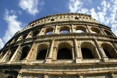 Facciata romana di Colosseum Fotografia Stock Libera da Diritti
