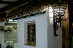 Facciata spagnola rurale Fotografia Stock