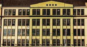 Facciata storica della fabbrica Fotografia Stock Libera da Diritti