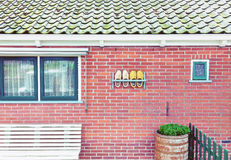 Facciata tradizionale della casa Fotografia Stock Libera da Diritti