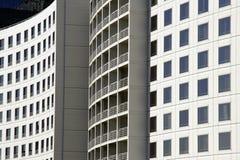 Facciata urbana della costruzione immagini stock