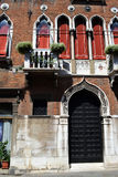 Facciata veneziana Immagine Stock