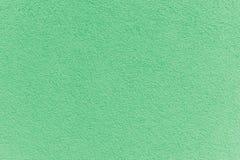 Facciata verde della pittura su una struttura della casa della famiglia Immagine Stock Libera da Diritti