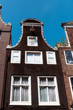 Facciate di Amsterdam Fotografia Stock Libera da Diritti