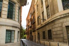 Facciate di Palma de Mallorca Fotografie Stock