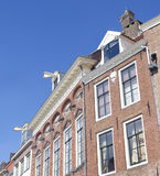 Facciate olandesi tipiche Fotografia Stock Libera da Diritti