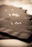 Faccio i tovaglioli Fotografie Stock