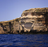 The Face. In Malta, Gozo Stock Image