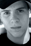 Face adolescente do menino Imagens de Stock Royalty Free