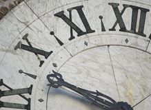 Face of ancient clock. See more similar images in my portfolio stock photos
