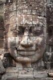Face of Angkor Thom, Bayon Royalty Free Stock Image