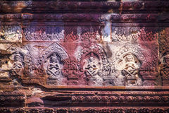 Face of Angkor Wat Royalty Free Stock Photography