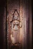 Face of Angkor Wat Stock Photo