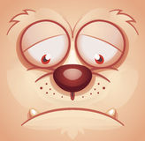 Face animal triste Fotos de Stock Royalty Free
