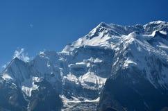 Face of Annapurna Stock Photo